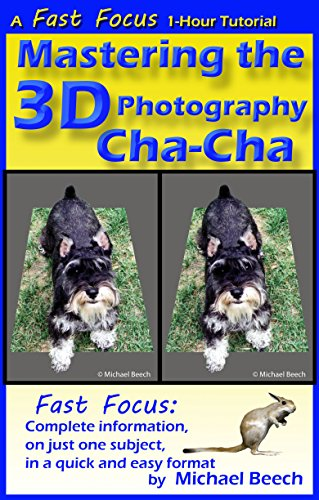 Mastering the 3D Photography Cha-Cha: How to Make Better 3D with Single Lens Cameras