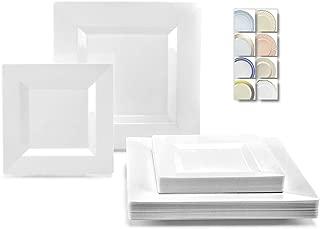 Best fancy white plastic plates Reviews