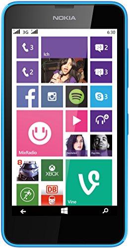 Microsoft Lumia 630 Dual-Sim ohne Vertrag cyan