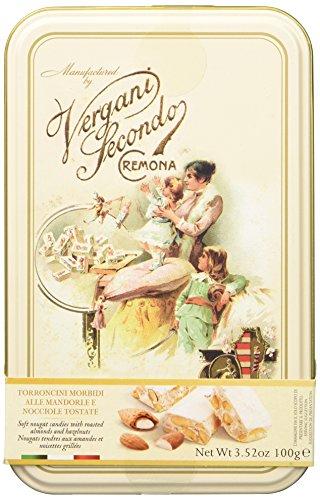 Vergani Torroncini Morbidi Alle Mandorle e Nocciole - 4 confezioni da 100 gr [400 gr]