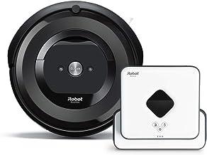 【セット商品】 ルンバ e5 & ブラーバ 390j e515060 B390060 アイロボット ロボット掃除機 床拭きロボット 水拭き Wi-Fi対応 【Alexa対応】