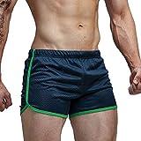 AIMPACT Men Swim Briefs Sexy Quick Dry Swimwear Shorts(AC11DarkBlue L)