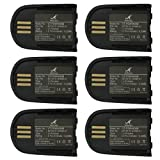 VINTRONS 86507-01, 204755-01, 82742-01, 84598-01 Battery for Plantronics Savi W440, Savi W740, Savi W745, Savi WH500, (Pack of 6)