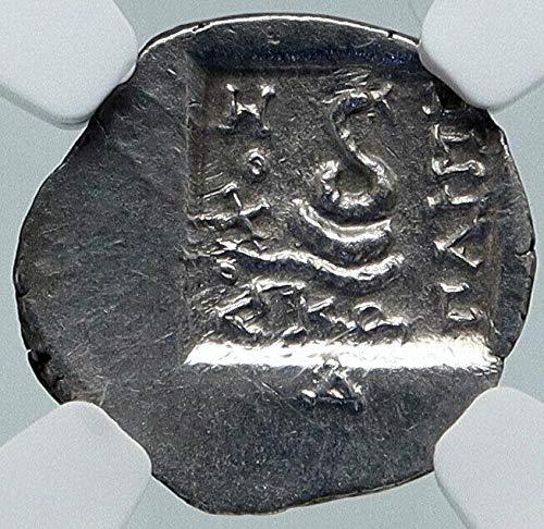 1 GR KOS Island off Caria Ancient 167BC AR Greek Coin Tetrobol Ch XF NGC