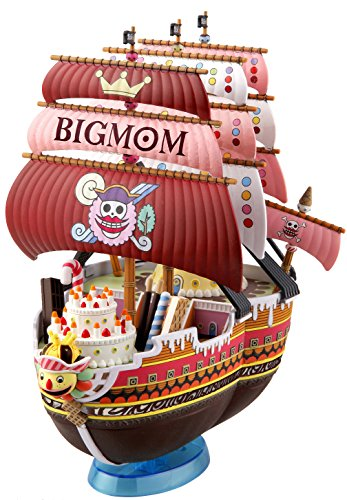 BANDAI Modellbau-Set 16387 - 56227 One Piece - Grand Ship Collection 13, klein, Queen Mama Chan