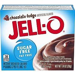 JELL-O Chocolate Fudge Instant Pudding & Pie Filling Mix (1.4 oz Box)