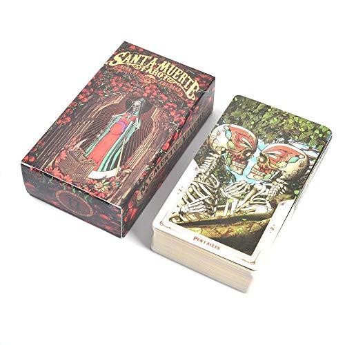De goede Tarot,78 Santa Muerte Tarot tarotkaarten