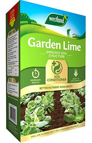 Westland Garden Lime Soil Conditioner, 4 kg, Natural