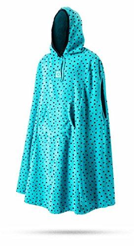 Mystic dames veranderende badjas poncho of veranderende badhanddoek voor strand watersporten en surfen - Mint - Kangoeroezak