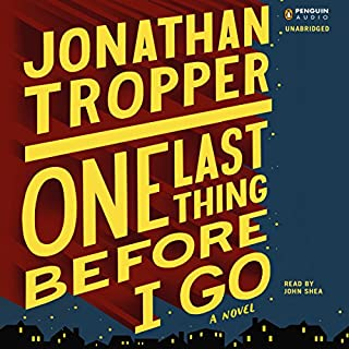 One Last Thing Before I Go audiobook cover art