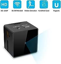 [Upgraded] Mini Spy Hidden Camera, JOYTRIP Portable HD 1080P Tiny Cube Spy Camera Wireless Hidden Home Security Nanny Cam with Motion Activated/AV Output/as USB Flash Driver- No WiFi Needed