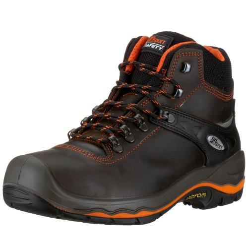 Grisport - Zapatos de protección S3 de cuero para hombre, Marrón, 42...