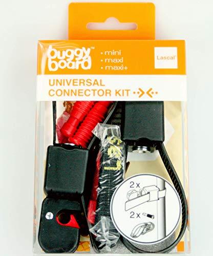 Lascal BuggyBoard Universal Connector Kit, universale Kinderbuggy Zusatzkupplung, Buggy und Kinderwagen Zubehör für BuggyBoard Mini, Maxi und Maxi+