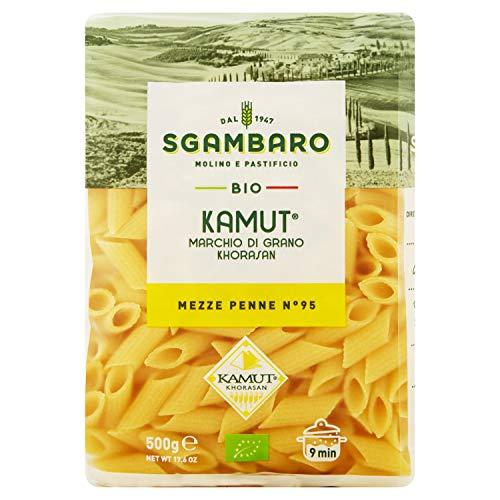 Sgambaro Kamut Bio Mezze Penne Rigate - 500 g
