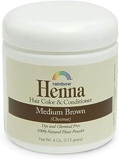 Rainbow Research Persian Medium Brown Henna, 4 Ounce - 6 per case.