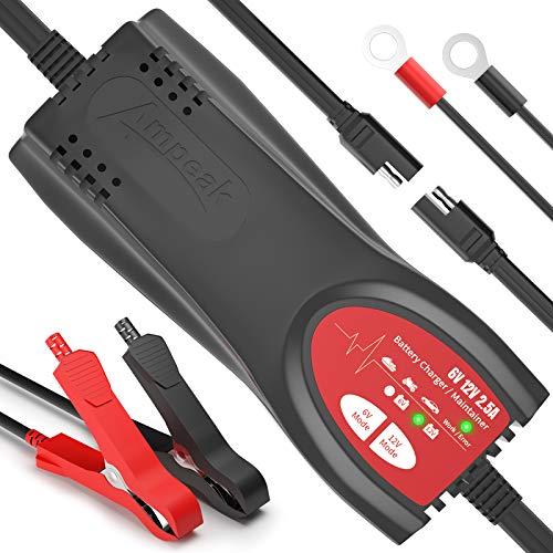 Ampeak 6V/12V 2.5A Car Battery Charger Only $9.84 (Retail $29.69)