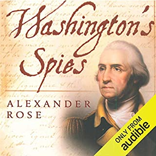Washington's Spies audiobook cover art