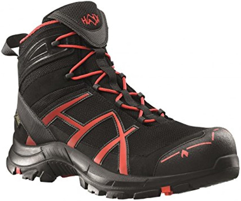 HAIX® Black Black Black Eagle Safety 40 Mid black/red. Leichter S3-Sicherheitsschuh in rot/schwarz B00ONKGVDI  0d0ccd