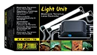 Fits two fluorescent bulbs Ideal for use with exo terra repti glo and other fluorescent bulbs More energy efficient than conventional ballasts or light strips No flickering less stressful for reptiles and amphibians Water-resistant end-caps for maxim...
