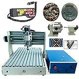 4 assi 400 W Router Engraver 3040 fresatrice per mandrino, fresatrice per incisione 3D, con controller