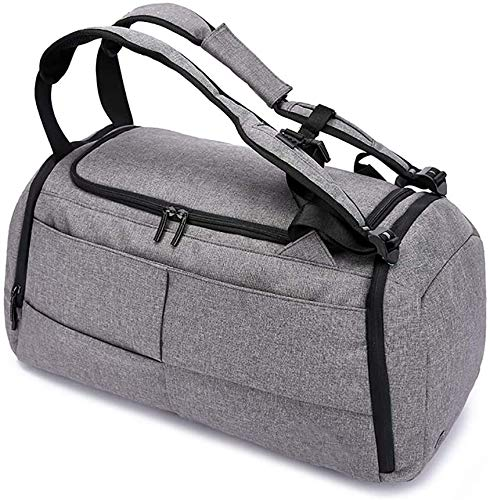 Hammer Multi-function large capacity Carry On Garment Bag Carrier Luggage With Shoes Separation Sports Gym Bag,2 in 1 Waterproof Gym Sport Duffle Bag for Men Women