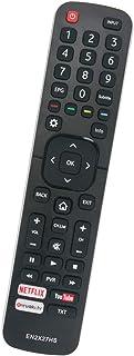 ALLIMITY EN2X27HS Reemplazo de Mando a Distancia para Hisense TV 43K300UWTS 55NEC5200 65K5500UWTS0100 65NEC5200 H32MEC2650 H40M3300 H40MEC3350 H43M3000UK H43MEC3050UK H43N5300UK