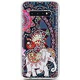 Robinsoni Cover Compatible con Samsung Galaxy S10 Plus Cover Silicone Galaxy S10 Plus Cust...