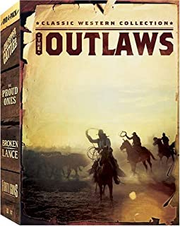 Classic Western Collection - The Outlaws: (The Proud Ones / Forty Guns / Broken Lance / The Culpepper Cattle Co.)