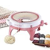 48 aiguilles Machine à tricoter, machine à tricoter intelligente à avec compteur de rangées, kit pour adultes et enfants, Tricoter Rond Machine à tricoter Tricoté à la main pour enfants et adultes