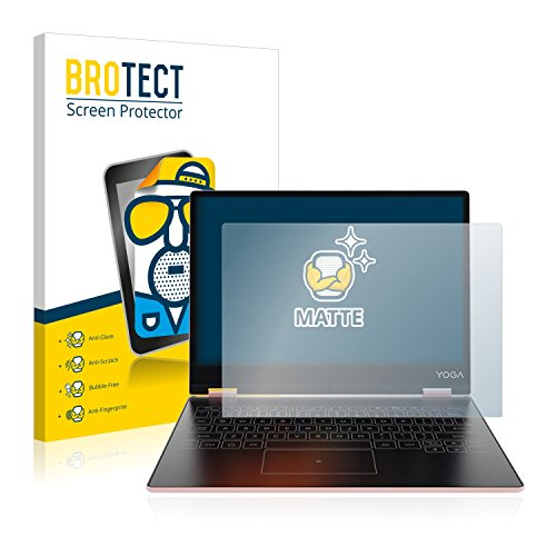 BROTECT 2X Entspiegelungs-Schutzfolie kompatibel mit Lenovo Yoga A12 Bildschirmschutz-Folie Matt, Anti-Reflex, Anti-Fingerprint