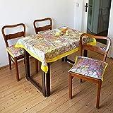 Ab 93,00 Euro: BERLIN Tischdecke, Picknickdecke, Tischwäsche, Digitaldruck, Stadtplan, DDR 1960er Jahre