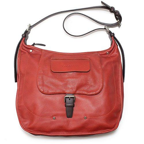 LONGCHAMP Balzane Burgundy Red Hobo Leather Handbag Purse Zipper NEW Bag