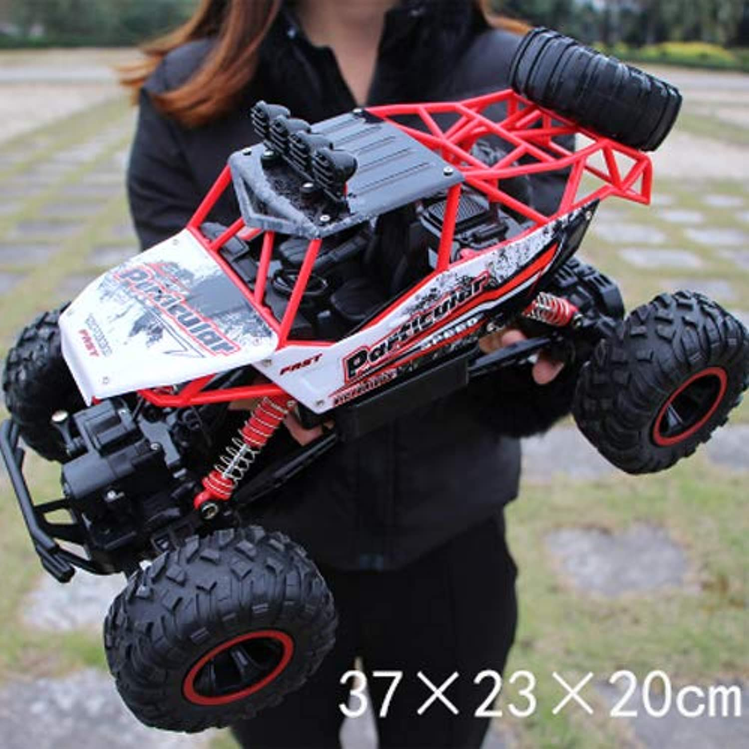 Pinjeer RC Car 1 12 4WD Rock Crawlers 4x4 Driving Car Double Motors Drive Big foot Car Remote Control Car Model OffRoad Vehicle Educational Toy for Kids Age 4+