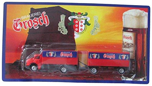 Grosch Nr. - Molter Truckshop - MB L322 - Hängerzug Oldie