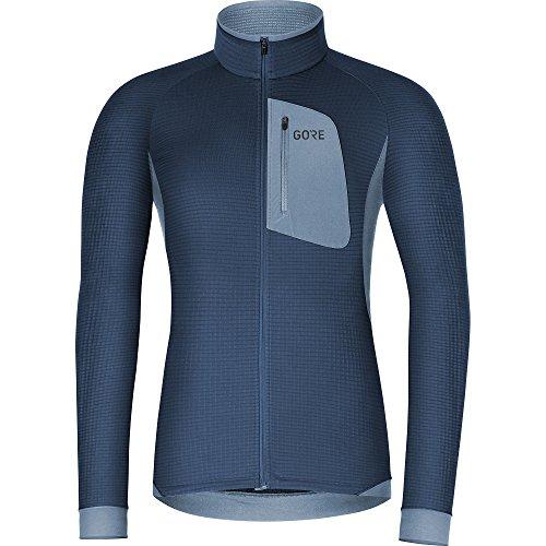 GORE WEAR 100281 Camiseta, Hombre, Azul Oscuro/Azul Claro, XL