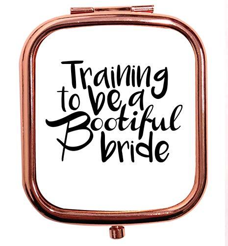 Flox Creative Miroir carré carré carré pour être une mariée Bootifull