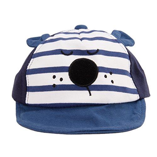RUIXIB Unisex Schiebermütze Basecap Kappe Baby Schirmmütze Sonnenhut Kinder Hut Kleinkind Baseball Cap Sommer Kopfumfang 46-50cm