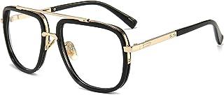 Oversized Square Sunglasses for Men Women Pilot Shades...