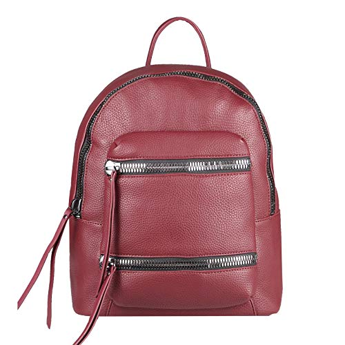 OBC Only-Beautiful-Couture Zaino Casual Rosso Bordo 38x34x15 Cm L