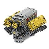 Myste Juego de construcción de motor de ingeniería V8 – dinámico, MOC-54607, 770 piezas Custom Technic, generador modelo con motor L, bloques de sujeción, compatible con la técnica Lego