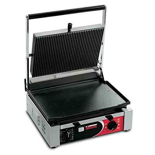 Cheapest Price! Sirman CORT-F Flat top & Bottom Medium Panini Grill