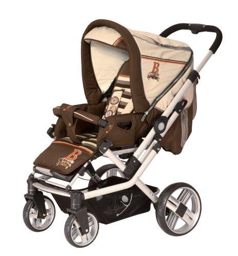 Babywelt 13040070-391 - Kombiwagen Pro 4S, Design Country Style