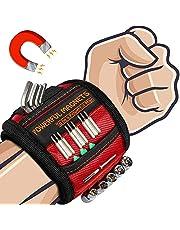 Cadeaus voor hem Gadgets voor mannen Geschenken - Vaderdag Gadgets Geschenken Magnetische Polsband DIY Tool Riem voor het vasthouden van schroeven, Papa Verjaardagscadeaus Ideeën voor Mannen, Vrouwen, Papa, Timmerman