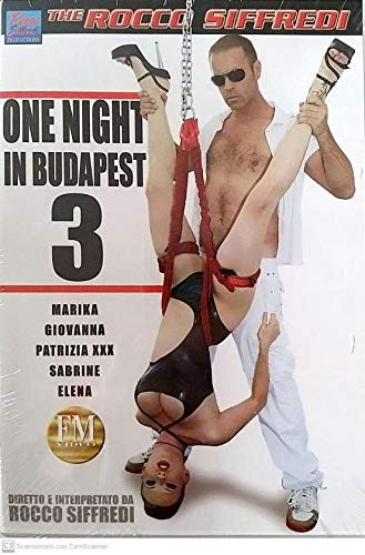 Sex DVD One night in Budapest 3 FM VIDEO fmd1190 Rocco Siffredi Production