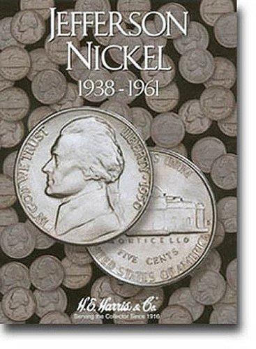 Jefferson Nickels Folder 1938-1961