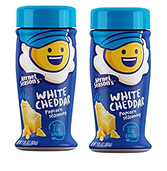 Kernel Season s Popcorn Seasoning White Cheddar Seasoning Made with Real Cheese Gluten-Free 2.85 Oz  Pack of 2