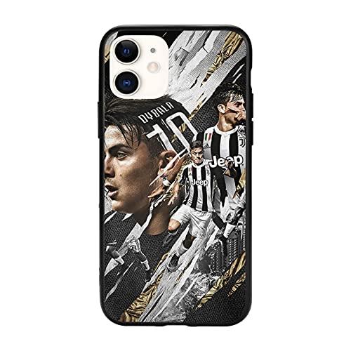 Custodie per Telefoni Protezione delle Cadute Illustration Dybala Samsung/iPhone/Xiaomi Redmi 9A/Note 9/10/8 Pro Custodie.
