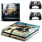 Pegatinas de vinilo para Playstation 4 PS4, diseño de Titanfall 2 PS4, Playstation 4