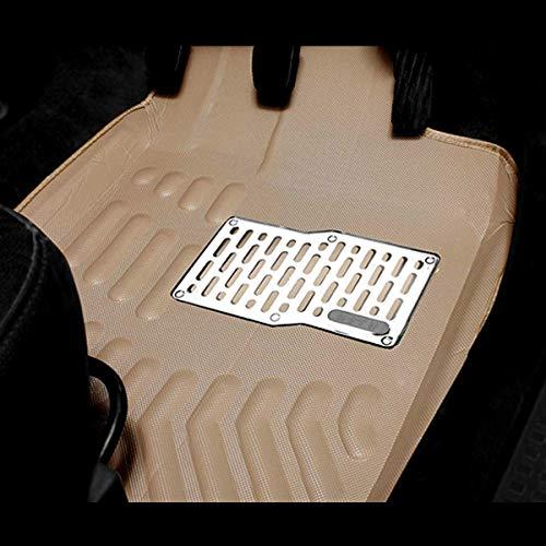 Kingsway kkm3dmbg00018 3D-4D Car Floor Mat for Maruti Suzuki SX4 (Set of 5, Beige)
