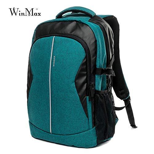 30l Borsa all'aperto Sport Backpack Molte tasche Men Travel Pack borsa donna zaino da campeggio Escursione ciclismo scuola zaina 45,5x31x16cmcm verde